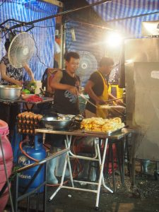 Street Food at Chinatown´s night market