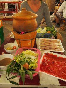 Lao fondue