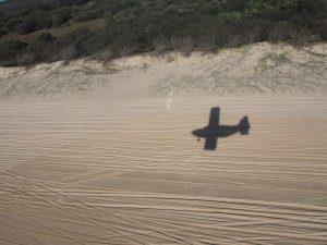 Beach landing!
