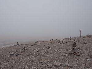 Laguna Verde - too foggy