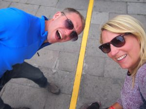 Fun at the equator