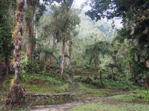 First view of Ciudad Perdida