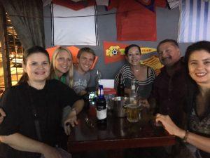 Marcia, me, Jens, Sylvia and Fernando